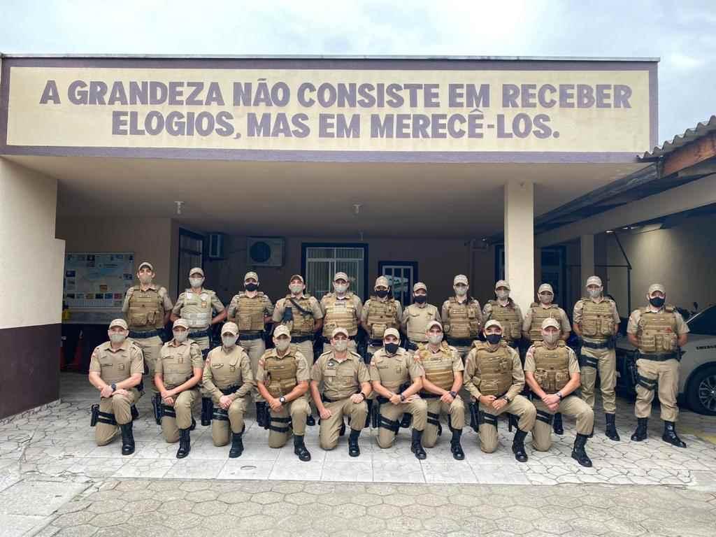 Itapema recebe reforço de Policiais Militares para Operação Veraneio