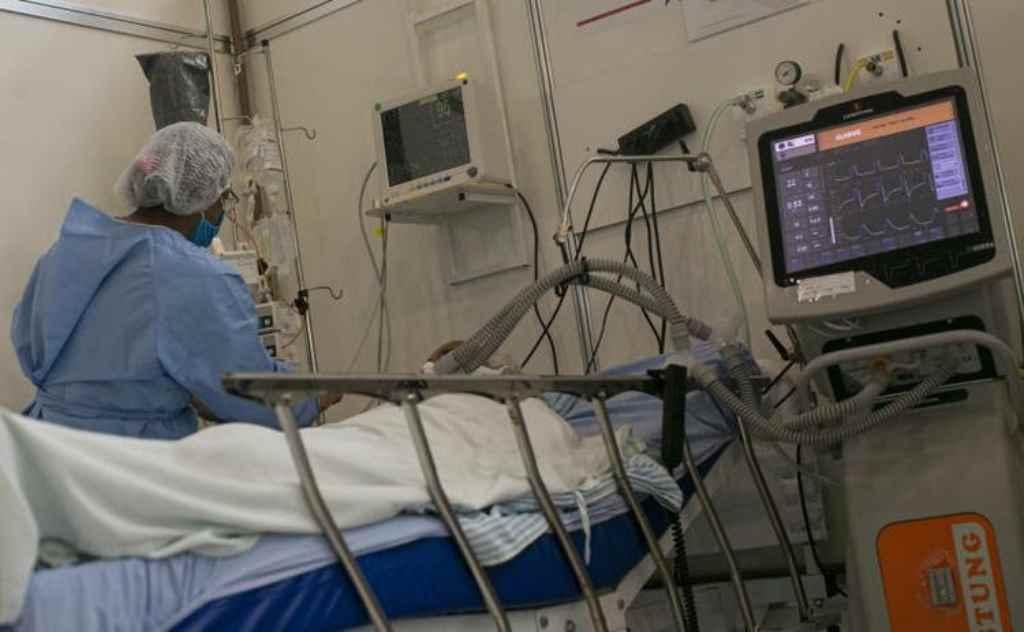 Ocupação de leitos de terapia intensiva permanece acima de 80% em todas as regiões do Estado(Foto: Tarso Sarraf/Folhapress)