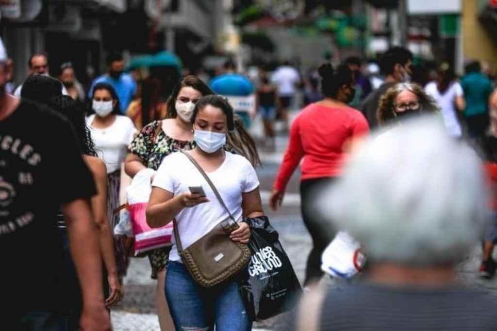 Apenas 12 cidades de SC não tem casos ativos de covid-19 no momento(Foto: Diorgenes Pandini / Diário Catarinense)