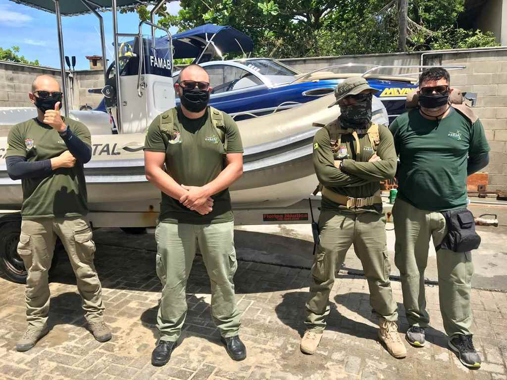 BOMBINHAS - FAMAB intensifica a fiscalização costeira - Foto: Divulgação FAMAB