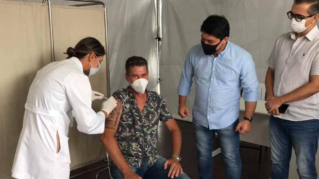 PORTO BELO - Porto Belo realiza a primeira vacinação contra o coronavírus