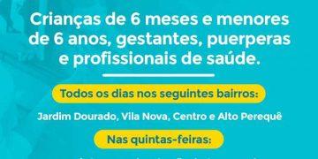 PORTO BELO - Porto Belo segue cronograma nacional para vacinação contra a gripe