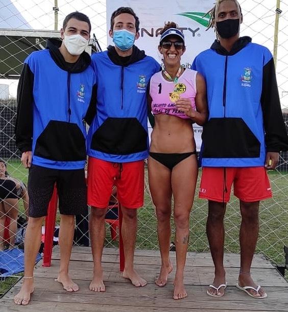 Atletas do Vôlei de Praia de Itapema conquistam bons resultados nas competições do final de semana