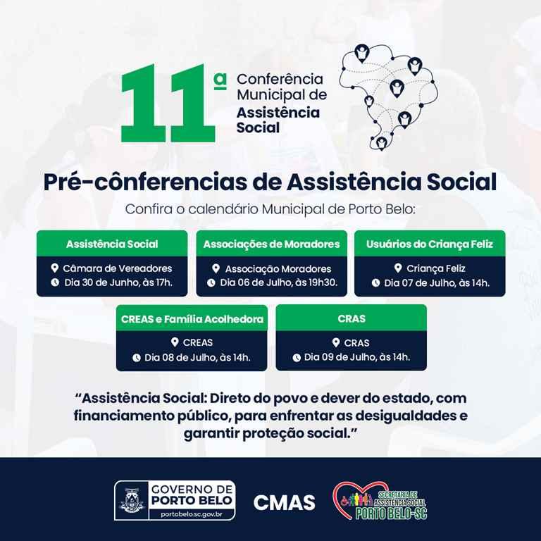 PORTO BELO - Porto Belo realiza pré-conferências da Assistência Social