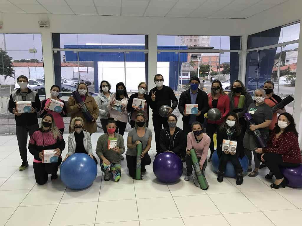 PORTO BELO - Aula gratuita de Pilates é sucesso em Porto Belo