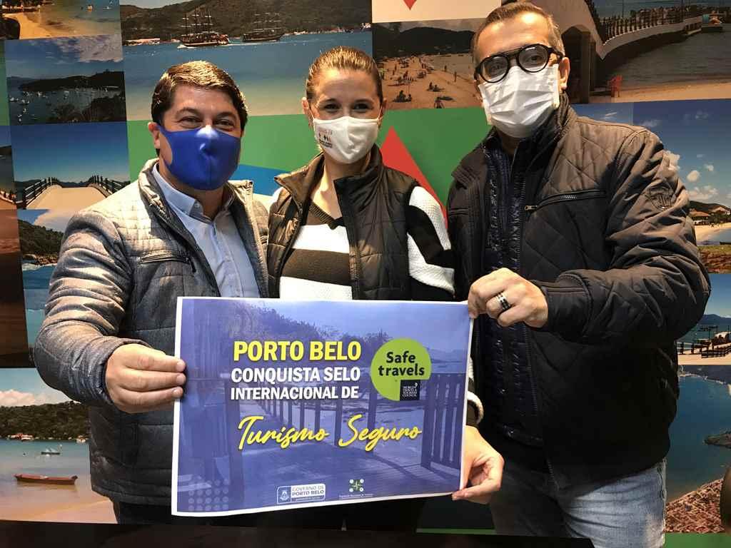 PORTO BELO - Porto Belo recebe o selo turístico internacional safe Travels