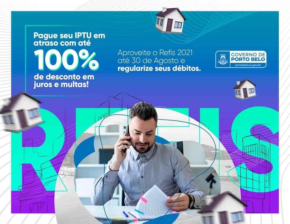 PORTO BELO - Porto Belo prorroga REFIS 2021