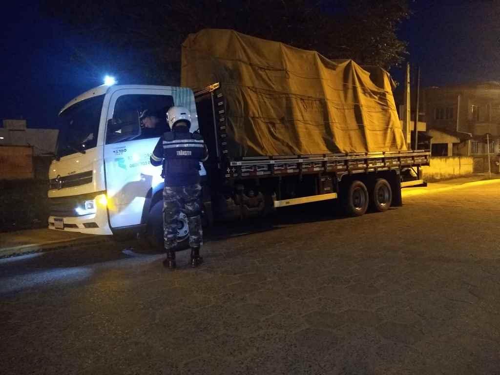 Segurança Pública realiza operação para coibir desvio de veículos da balança
