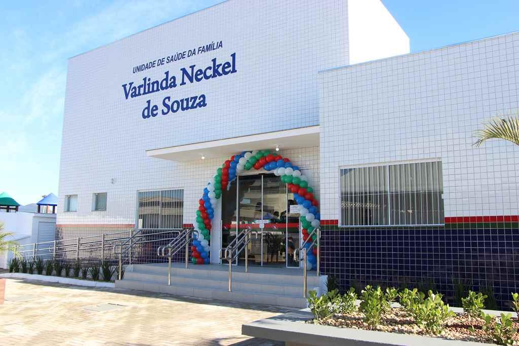 PORTO BELO - Porto Belo entrega Posto de Saúde para o bairro Jardim Dourado