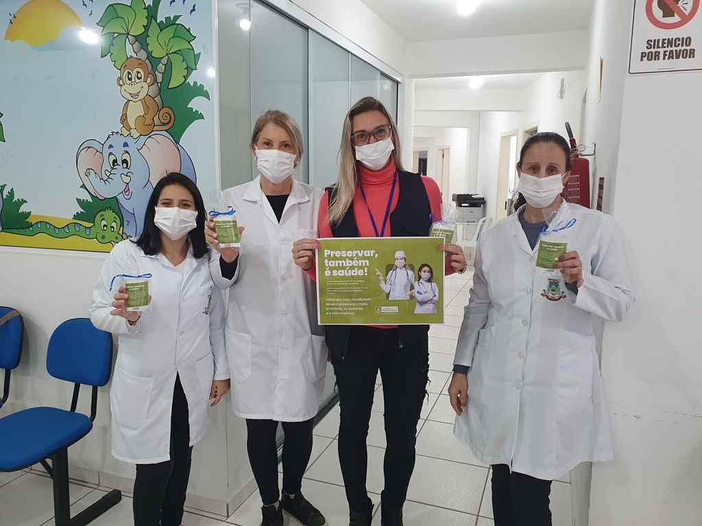 PORTO BELO - Saúde de Porto Belo busca conscientização ambiental através de copos reutilizáveis