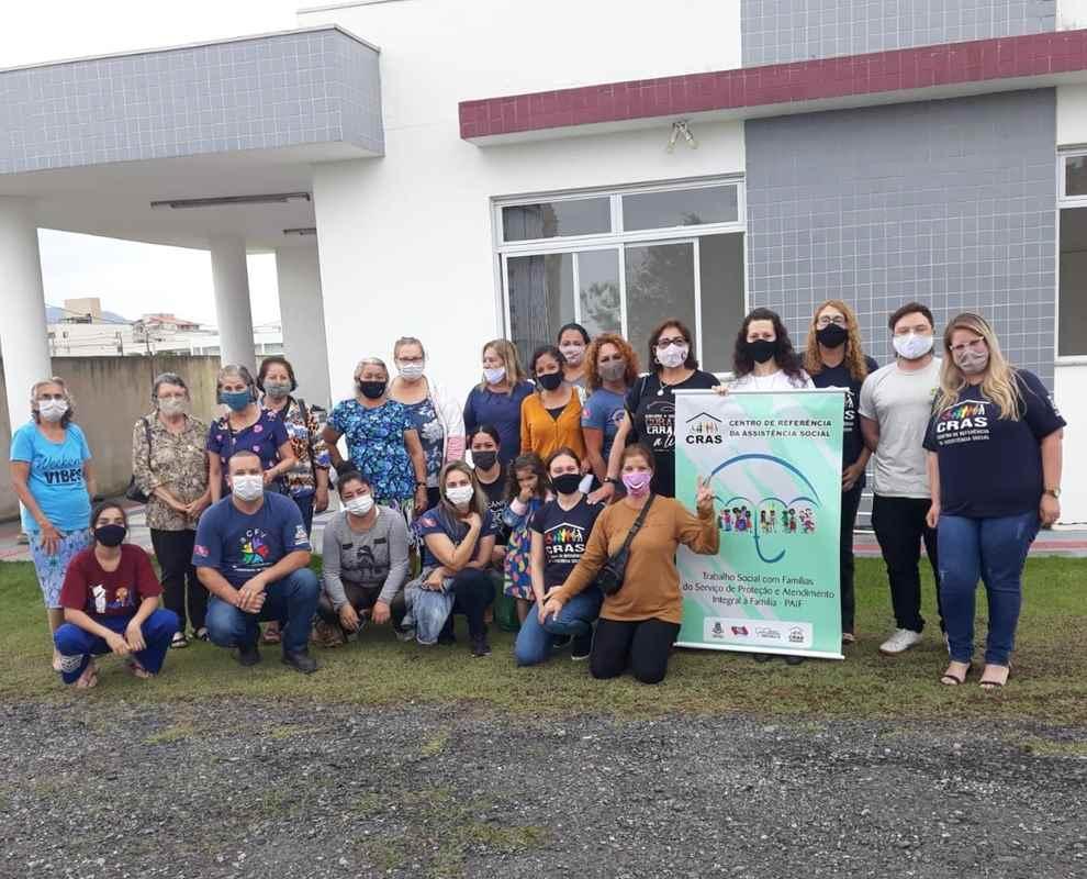 Assistência Social de Porto Belo promove roda de conversa sobre o reflexo da pandemia nas famílias