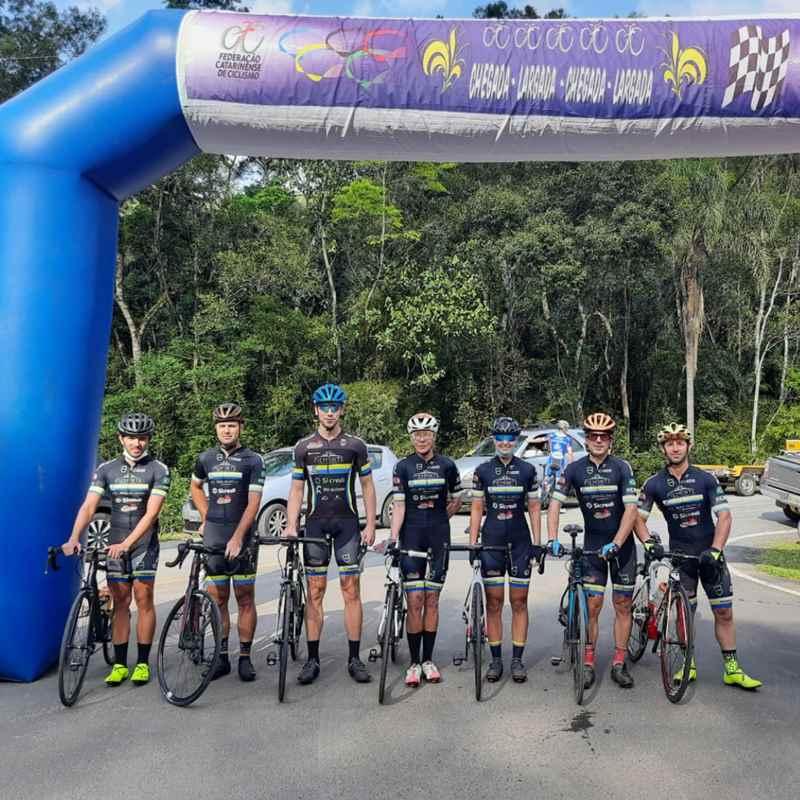 Em Casa, Equipe Disputa a 7ª Etapa Ranking Catarinense de Ciclismo