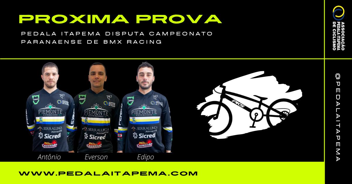 Pedala Itapema Disputa Campeonato Paranaense de BMX Racing