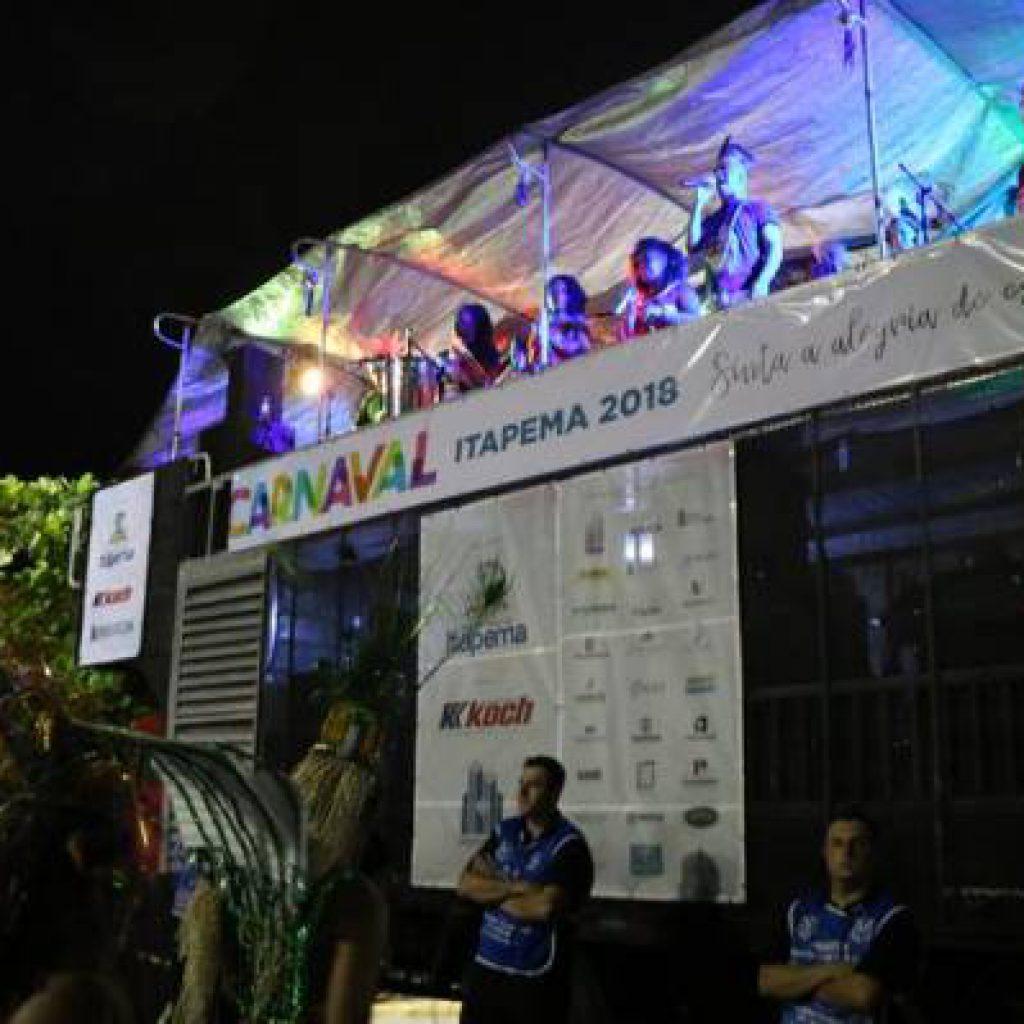 Carnaval Itapema 2018 animou foliões com dois dias de festa