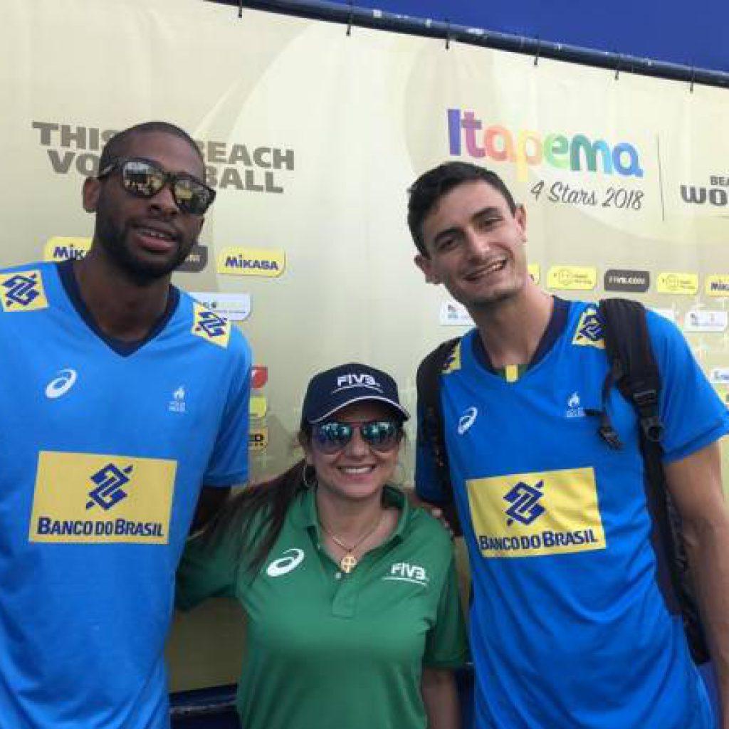 Circuito Mundial de vôlei de praia inicia com vitórias brasileiras em quadra